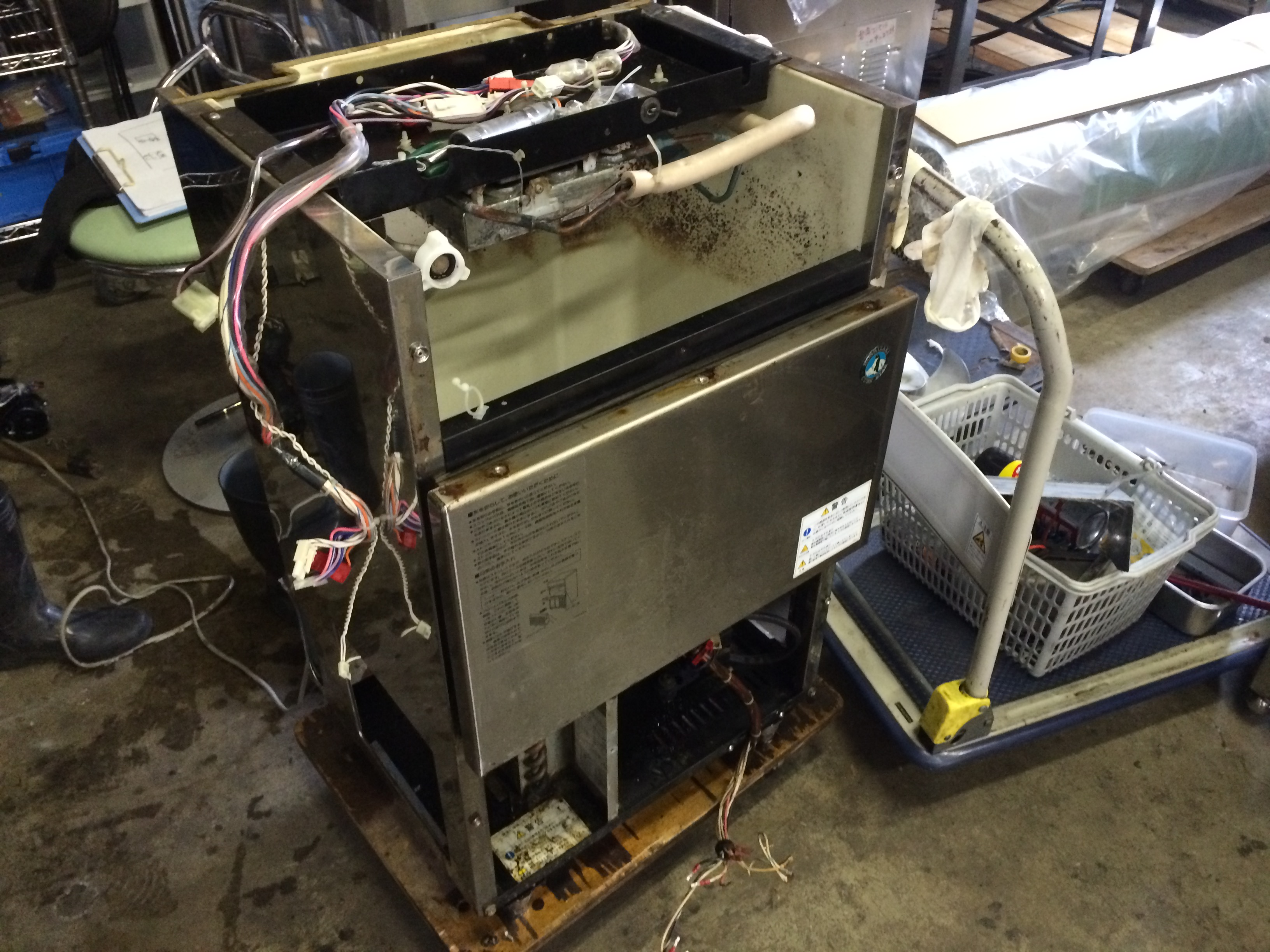熊本市でホシザキ・製氷機IM-35Lを買取りました!
