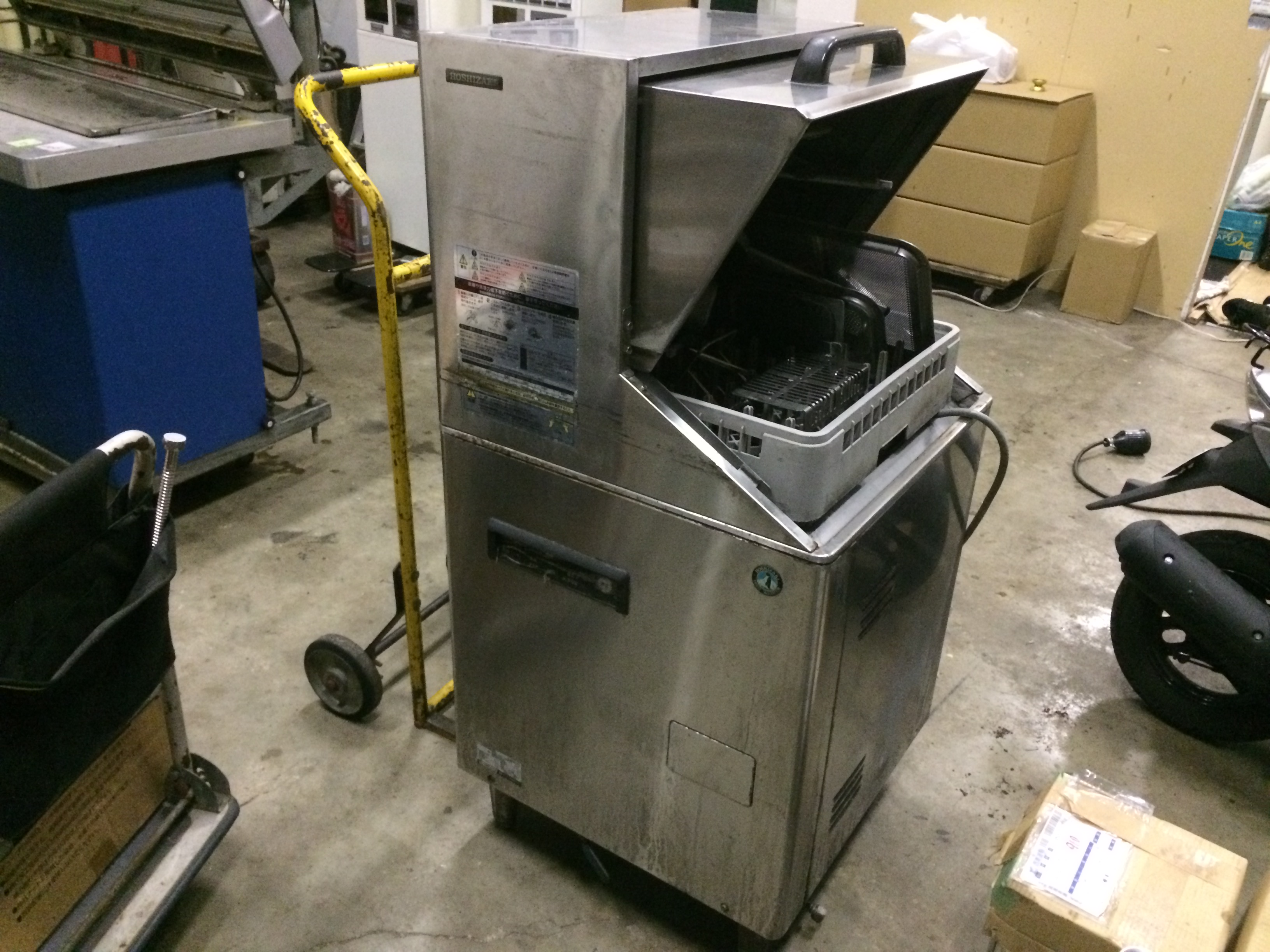 ホシザキ 食器洗浄機(JW-450)買取ました!福岡・熊本で厨房機器の事は厨房ジャックへ